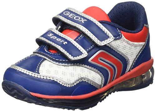 Geox B Todo Boy A Scarpe Walking Baby, Bambino, Blu (Navy/Red), 24