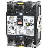 テンパール工業 単3中性線欠相保護付漏電遮断器(OC付)50A(30mA) リード線付 U5301KC5030V