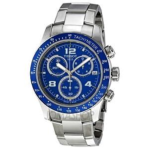 Tissot Quartz, Silver Stainless Band Blue Dial - Men's Watch T0394171104700