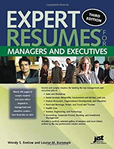 expert resumes for managers and executives expert resumes