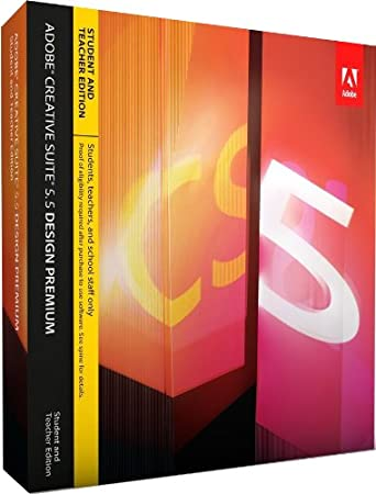 Adobe Creative Suite 5.5 Design Premium - STUDENT AND TEACHER EDITION - WIN