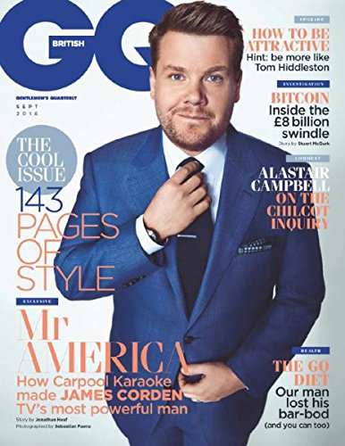 British GQ Magazine (September, 2016) James Corden Cover (British Gq compare prices)
