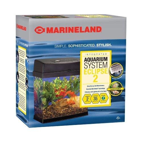 Marineland eclipse explorer orca fish tank black 2 for Eclipse fish tank