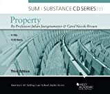 Juergensmeyer's Sum and Substance Audio on Property, 3d (CD) (English and English Edition)