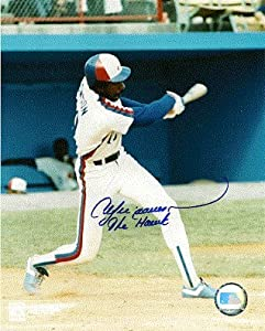 Autographed Hand Signed Hof Andre Dawson Montreal Expos 8x10 Photo