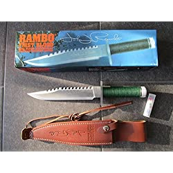 "RAMBO 1 - First Blood Part I Messer - lim. Signature Edition ""John Rambo"" 1 von 5000 in Big Box *Original+NEU+OVP*"