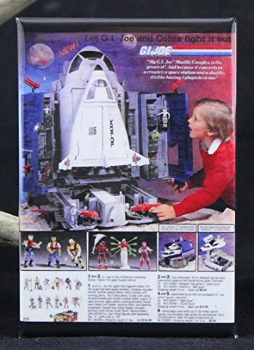 G. I. Joe Space Shuttle Defiant Refrigerator Magnet. (Space Shuttle Magnet compare prices)
