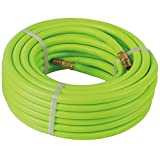 Atlantic Super Duty Hybrid Garden Hose 5/8 Inch 25 Feet Brass Fittings Can Working Under -4°F
