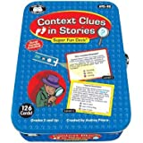 Context Clues In Stories Fun Deck With Secret Decoder - Super Duper Educational Learning Toy For Kid