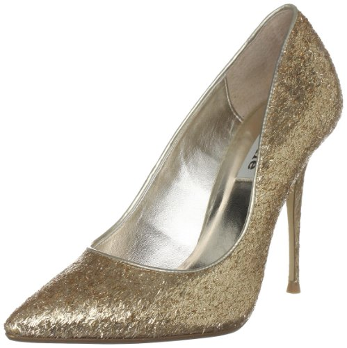 Dune Women's Bedazzled Gold Heels 84503940025092 5 UK
