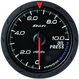 日本精機 Defi (デフィ) メーター【Defi-Link ADVANCE CR】油圧計 60φ (ブラック) DF-08902