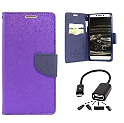 SAI COLLECTION ROYAL DAIRY FLIP COVER +OTG CABLE FOR SAMSUNG J2