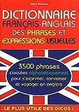 echange, troc Henri Goursau - Dictionnaire français-anglais des phrases et expressions usuelles