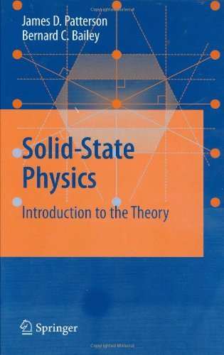 James Patterson - Solid-State Physics: Introduction to the Theory