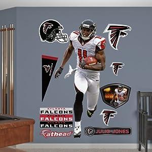 NFL Atlanta Falcons Julio Jones Away Wall Graphics by Fathead