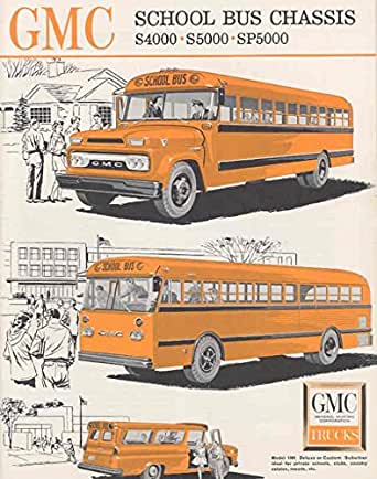 1962 GMC School Bus Brochure Suburban at Amazon's Entertainment