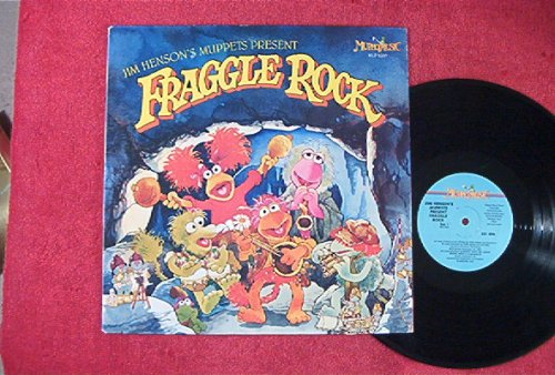 Fraggle Rock: Jim Henson's Muppets Present: Children's Vinyl Lp: (1983)