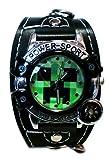 Minecraft マインクラフト Creeper クリーパー 腕時計A