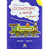 (s/dev) locomotoras de vapor 1857-1877 - coloreables