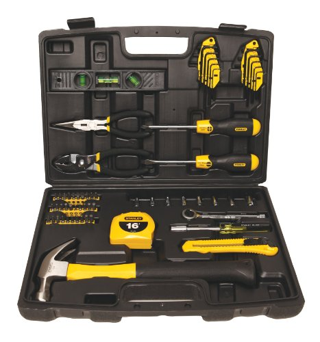 Stanley 94-248 65-Piece Homeowner's Tool Kit (Corded Electric Ratchet compare prices)