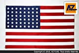 AZ FLAG - USA 48 STARS FLAG 3' x 5' - US - AMERICAN FLAGS 90 x 150 cm - BANNER 3x5 ft High quality - New