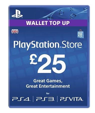 Sony PlayStation Network Card - £25 (PlayStation Vita/PS3)