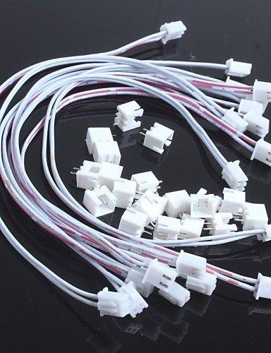xmqcdouble-line-254-2p-xh-2p-mit-draht-leader-transposon-lang-30cm-10pcs