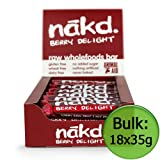 Nakd Berry Delight Raw Fruit and Nut Bar 35g x18