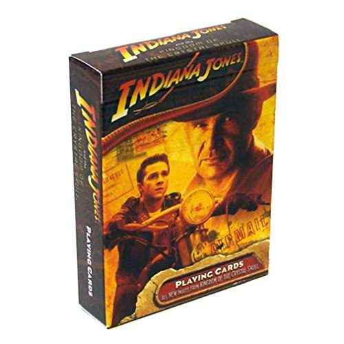 Indiana Jones and the Kingdom of the Crystal Skulls Playing Cards