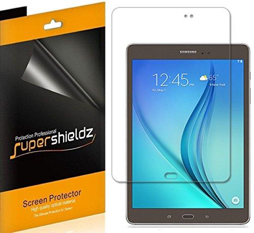 [3-Pack] Samsung Galaxy Tab A 8.0 Screen Protector, Supershieldz® Anti-Glare & Anti-Fingerprint (Matte) Screen Protector For Samsung Galaxy Tab A 8.0 inch + Lifetime Replacements Warranty- Retail Packaging