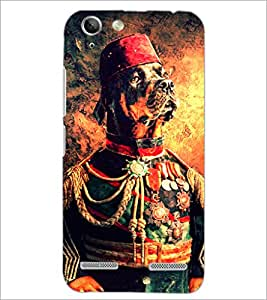 PrintDhaba Funny image D-4891 Back Case Cover for LENOVO A6020a46 (Multi-Coloured)