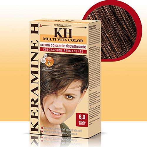 Keramine H Crema Colorante 6,0 Biondo Scuro