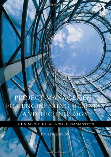 Project Management for Engineering, Business