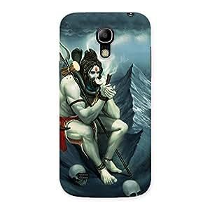 Enticing Shiva Multicolor Back Case Cover for Galaxy S4 Mini