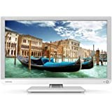 Toshiba 22L1334G Edge LED TV, Full HD, USB Playback, Bianco