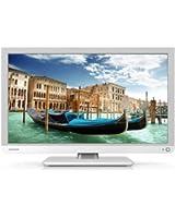 Toshiba 22L1334G Edge LED TV, Full HD, USB Playback, Bianco