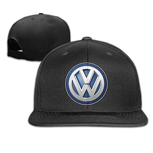 maneg-volkswagen-logo-unisex-fashion-cool-adjustable-snapback-baseball-cap-hat-one-size-black