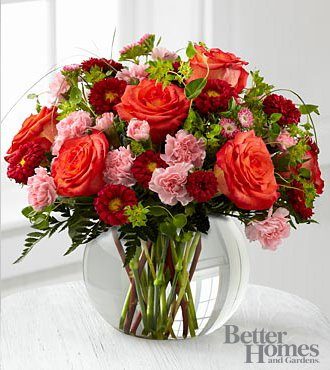 FTD Flowers Better Homes and Gardens Color Rush Bouquet-16 Stems – Delivered by a Local Florist