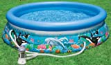 Intex Ocean Reef 10ft x 30in Easy Set Pool with Filter Pump #28126