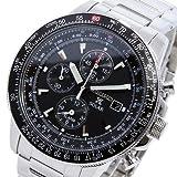 [セイコー] SEIKO 腕時計 ソーラー パイロットクロノグラフ アラーム SSC009P1 [逆輸入品]