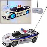 Safekom POLICE RADIO REMOTE CONTROL LED TOY CAR SPIDER FLASH