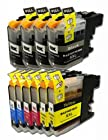 YoYoInk Compatible Replacement for Brother LC103 103 Ink Cartridges (4 Black , 2 Cyan , 2 Magenta , 2 Yellow , 10 Packs) for Brother DCP-J132W DCP-J152W DCP-J172W DCP-J4110DW DCP-J552DW DCP-J752DW MFC-J245 MFC-J285DW MFC-J4310DW MFC-J4410DW MFC-J450DW MFC-J4510DW MFC-J4610DW MFC-J470DW MFC-J4710DW MFC-J475DW MFC-J650DW MFC-J6520DW MFC-J6720DW MFC-J6920DW MFC-J870DW MFC-J875DW