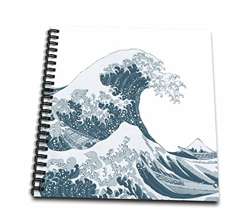 3drose-db-130659-1-tsunami-ocean-wave-japan-drawing-book-8-by-8-inch