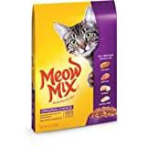 Meow Mix Dry Cat Food, Chicken Turkey Salmon & Oceanfish,...