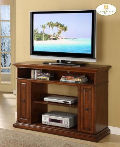 Cheap Diamond TV Stand in Burnished Oak Finish (B004RSYZFW)