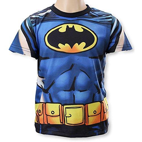 Superman V Batman - T-shirt Maglietta Maniche Corte - Bambino - Batman - Novità Prodotto Originale 961-787 [Nero - 3 anni - 98 cm]