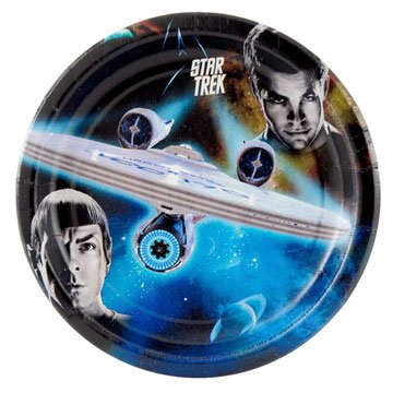 Star Trek Dessert Plates (8 count) Party Accessory