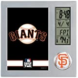 MLB San Francisco Giants Digital Desk Clock at Amazon.com