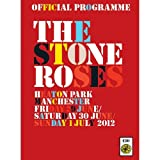 Nic Moore The Stone Roses - Official 2012 Tour Programme, Heaton Park, Manchester, UK program