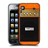 Head Case Designs Orange Chorus Guitar Amp Protective Snap on Hard Back Case Cover for Samsung Galaxy S I9000 Plus I9001